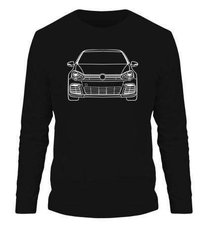 Мужской лонгслив VW MK6 R