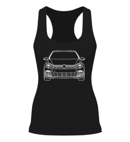 Женская борцовка VW MK6 R