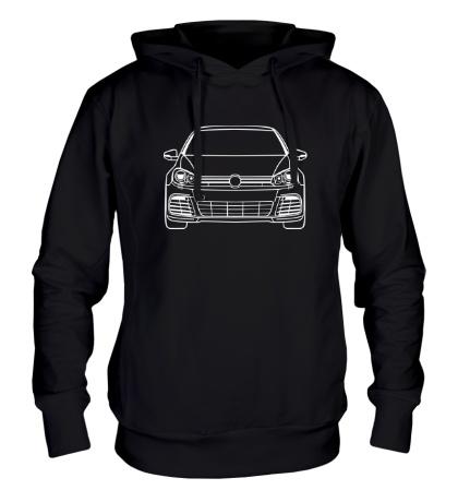 Толстовка с капюшоном VW MK6 R