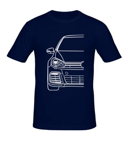 Мужская футболка VW MK6 R Big