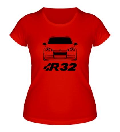 Женская футболка MKV Golf R32