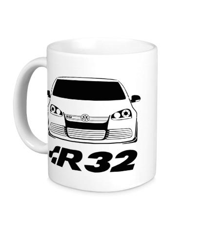 Керамическая кружка MKV Golf R32