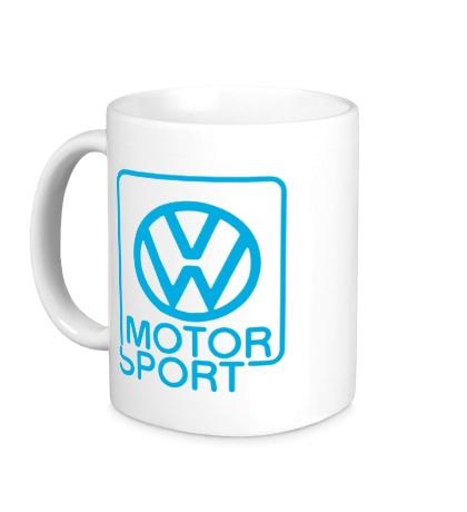 Керамическая кружка VW Motorsport