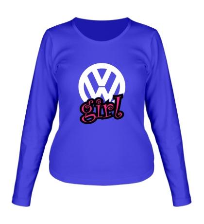 Женский лонгслив VW Girl