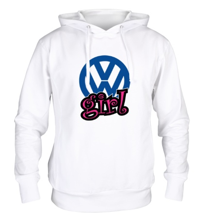 Толстовка с капюшоном VW Girl