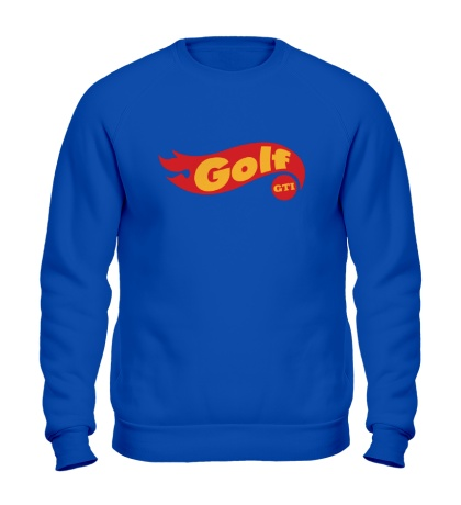 Свитшот Golf GTI hot wheels