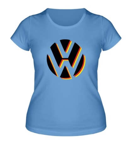 Женская футболка Volkswagen Germany