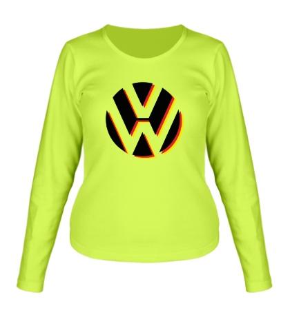 Женский лонгслив Volkswagen Germany