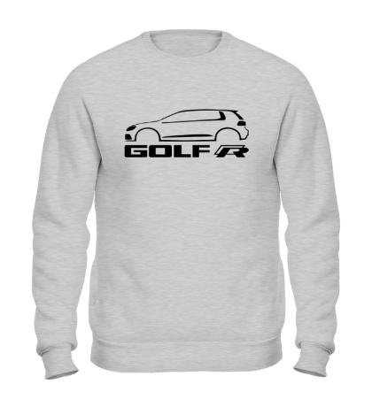 Свитшот VW Golf R silhouette