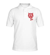 Рубашка поло VW Devil logo