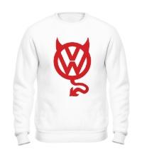 Свитшот VW Devil logo