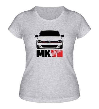 Женская футболка VW MKVII GTI