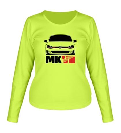 Женский лонгслив VW MKVII GTI