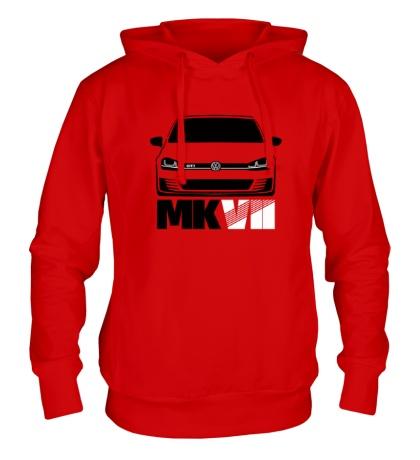 Толстовка с капюшоном VW MKVII GTI