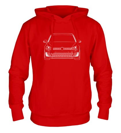 Толстовка с капюшоном VW MK7 GTI
