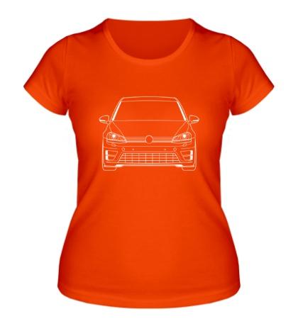 Женская футболка MK7 R