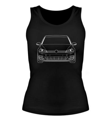 Женская майка VW MK7 TDI