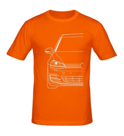 Мужская футболка VW MK7 TDI Big