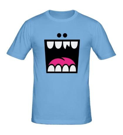 Мужская футболка Сумасшедшая радость