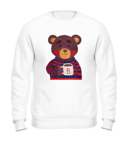 Свитшот Медведь с какао