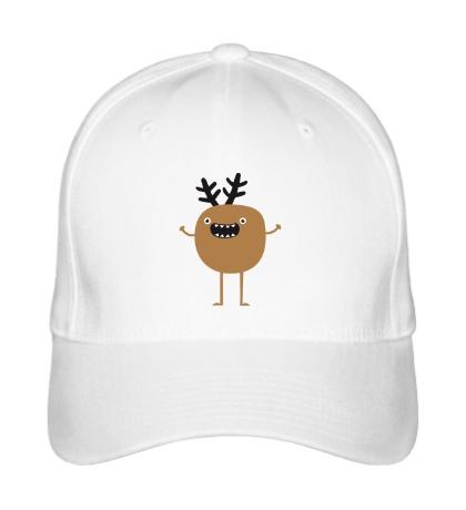 Бейсболка Рождественский олень