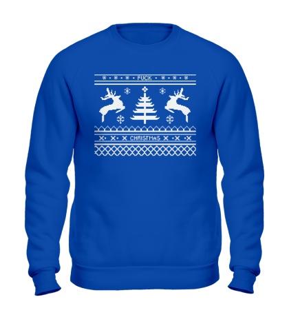 Свитшот Fuck Christmas