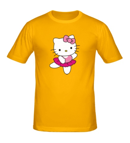 Мужская футболка Китти танцует