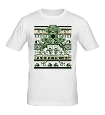 Мужская футболка Contra Christmas