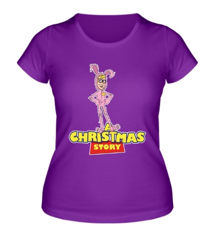 Женская футболка Christmas Toy Story