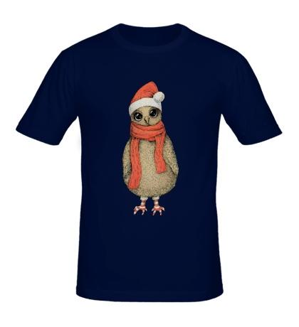 Мужская футболка Милая сова