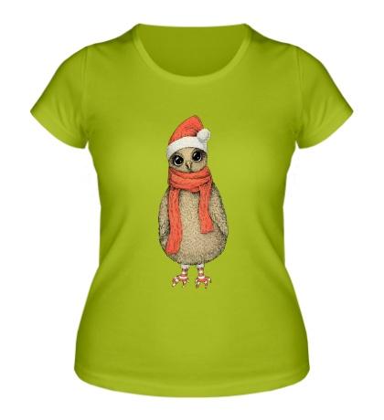 Женская футболка Милая сова