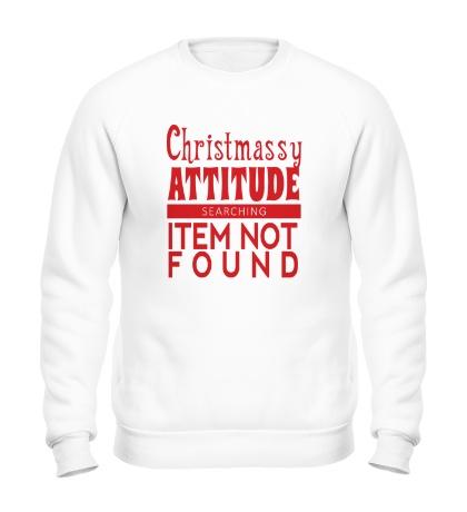 Свитшот Christmassy Attitude