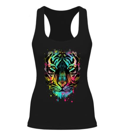 Женская борцовка Цветной взгляд тигра