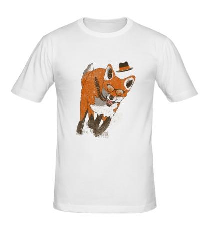 Мужская футболка Бегущий лис