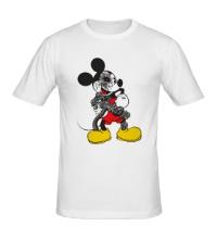 Мужская футболка Микки терминатор