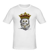 Мужская футболка Королевская сова