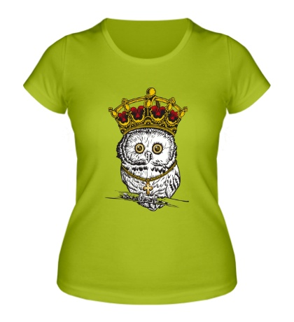 Женская футболка Королевская сова