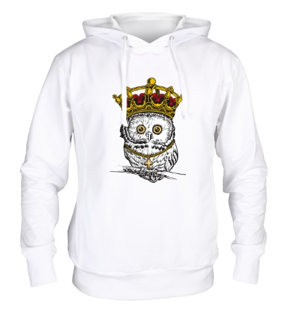 Толстовка с капюшоном «Королевская сова»