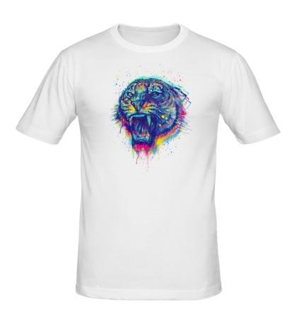 Мужская футболка Тигриный рев