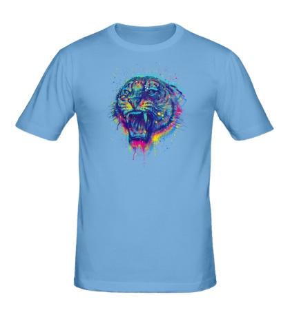 Мужская футболка «Тигриный рев»