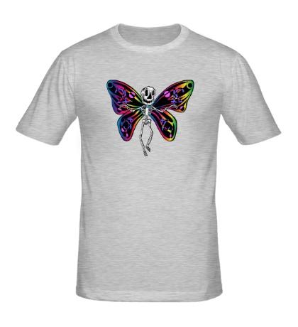 Мужская футболка «Скелет бабочки»