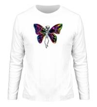 Мужской лонгслив Скелет бабочки