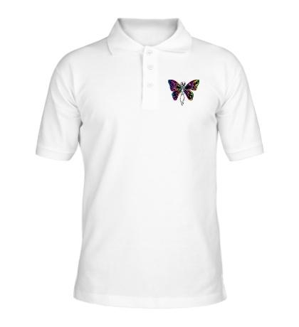 Рубашка поло «Скелет бабочки»
