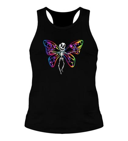 Мужская борцовка «Скелет бабочки»