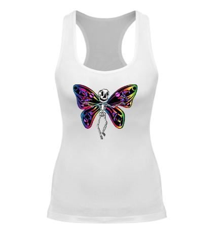 Женская борцовка «Скелет бабочки»