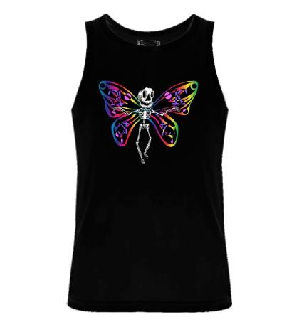 Мужская майка Скелет бабочки