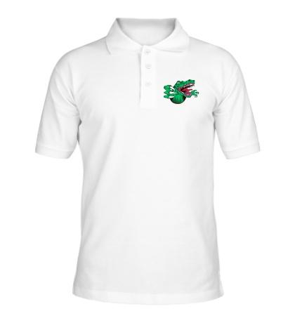 Рубашка поло Голодный динозавр