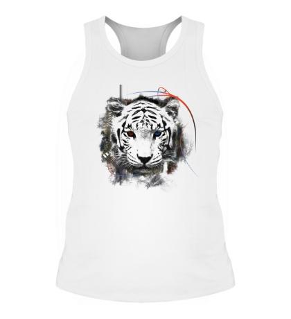 Мужская борцовка Белый тигр