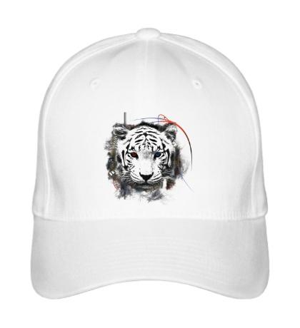 Бейсболка Белый тигр