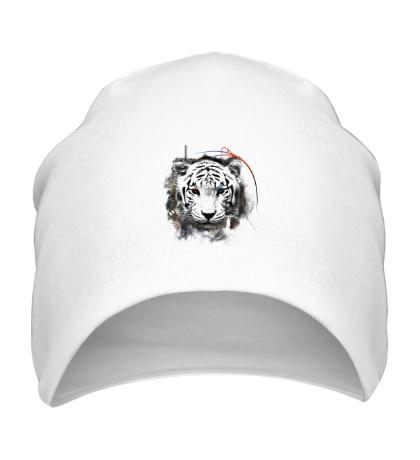 Шапка Белый тигр